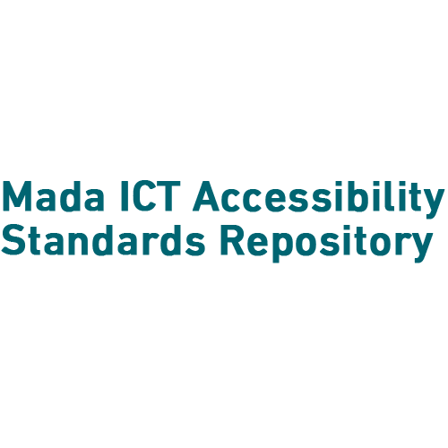Mada ICT Accessibility Standards Repository